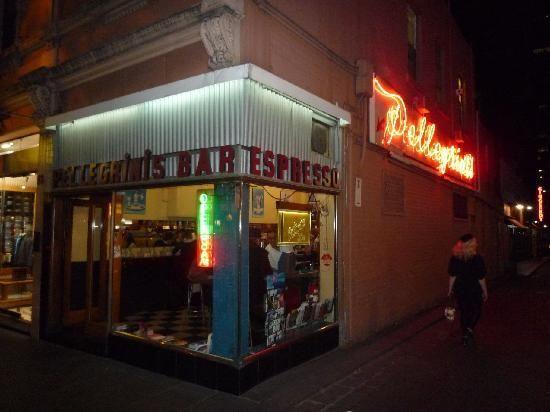 Pellegrini's Italian - 66 Bourke St, Melbourne