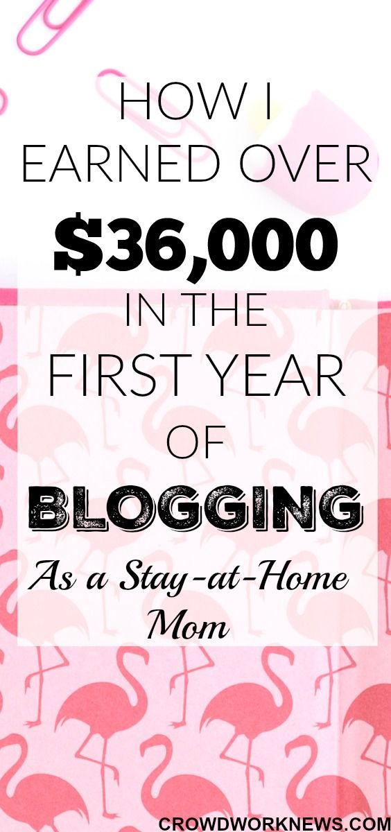 WOW!! It's one year already and I am amazed at how my blog is growing. In this one year I have realized it is possible to make money blogging even in the first year. Click through to find out how I made over $36,000 in the first year of blogging as a stay-at-home mom.