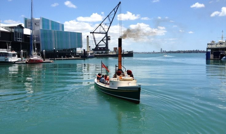 NZ MARITIME MUSEUM, AUCKLAND - Family sailings on the SL Puke on Queens Birthday 2015