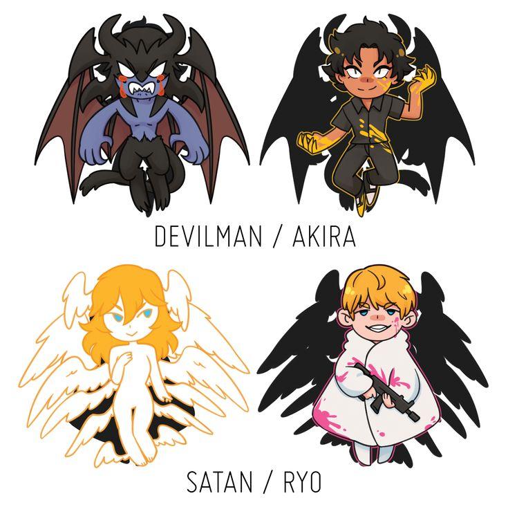 Devilman Crybaby Season 2: Pin By HoLinh On Asuka Ryo Satan