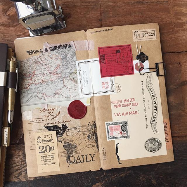 Full spread of my Kraft file. Why Canada Post Card when I'm a Malaysian? CPC represents my fu...