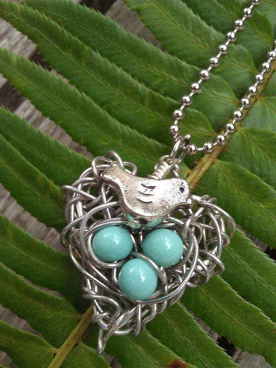 Heart Shaped Wire Wrapped Metal Bird Love Robin by beadsquared, $12.00