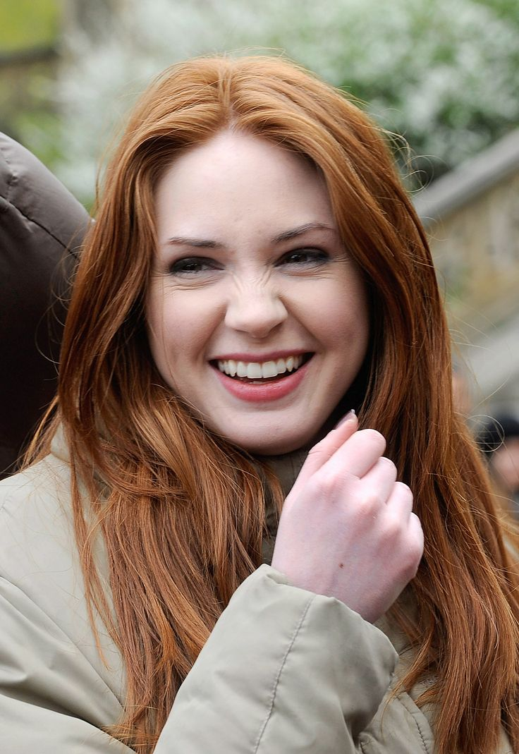 Red Hair Scottish Women | Amy Pond Doctor Who feminist interview Karen Gillan sexism Steven ...