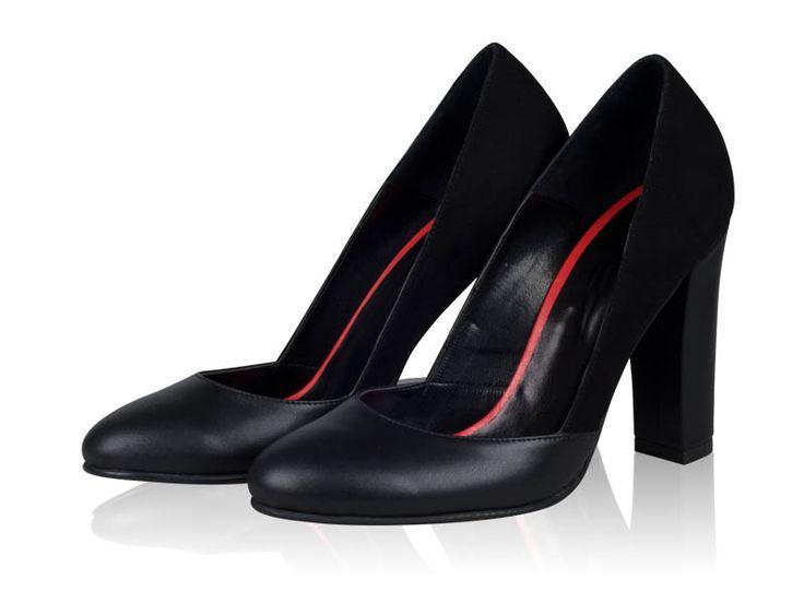 Pantofi dama- P23N Black Class