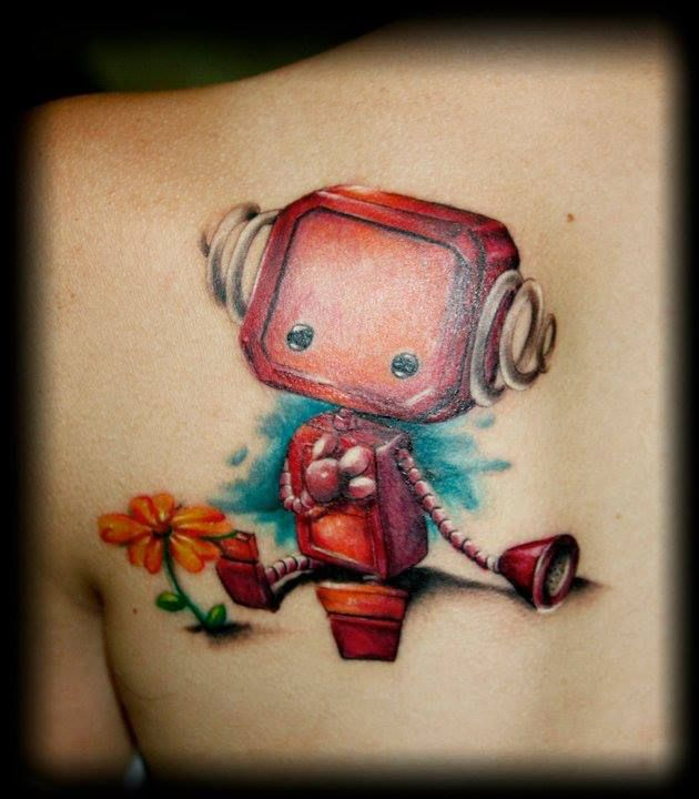 Tattoo Ideas Robot: 203 Best Images About Ink. On Pinterest