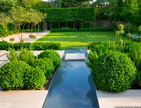 Charlotte Rowe Garden Design. Leading garden designer in London