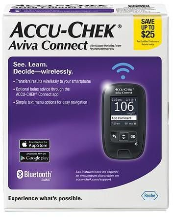 Accu-Chek Aviva Connect Blood Glucose Monitoring System