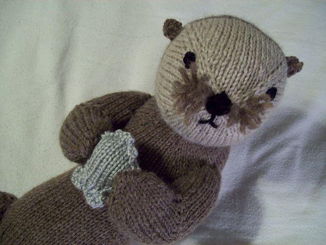 Monterey Sea Otter pattern by Cara Key | My Animal Friends ...