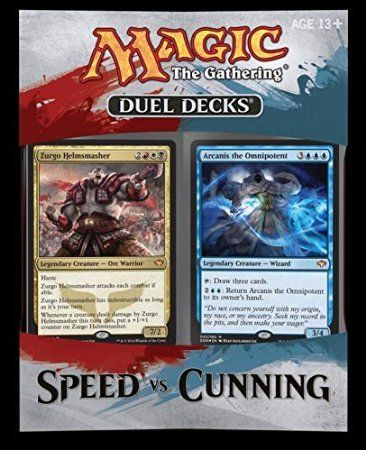 Amazon.com: Magic: the Gathering 2014 (MTG) Duel Deck SPEED vs. CUNNING: Toys & Games