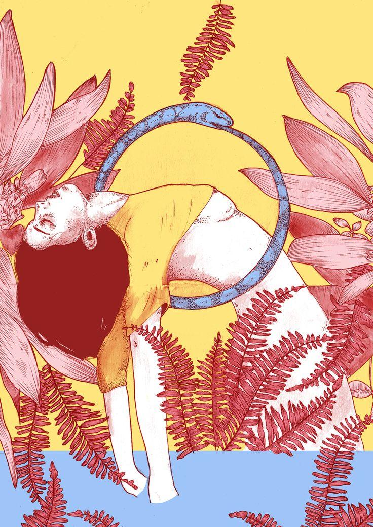 Direto de Brusque, Santa Catarina, os desenhos de Sabrina Gevaerd tem um Q feminista quase que escancarado em seus traços. Misturando o erotismo com elementos da natureza, suas ilustrações simbolizam a sensibilidade de forma muito poderosa. Embora formada em Design de Moda, suas lembranças mais remotas são desde cedo ter o lápis e o (...)
