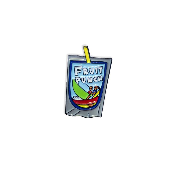Fruit Punch Pin from Laser Kitten
