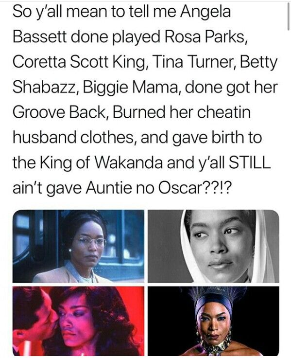 (Um Black Panther is not eligible for the 90th Academy Awards, it will be eligible for the 91st so please refrain from complaining. If she isn't nominated next year feel free to repost)