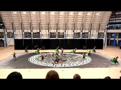 "Ayala high school winter guard... AMAZING!!!!!!!!!! <--- I performed in this show my junior year. ""The Snakes of Medusa"""
