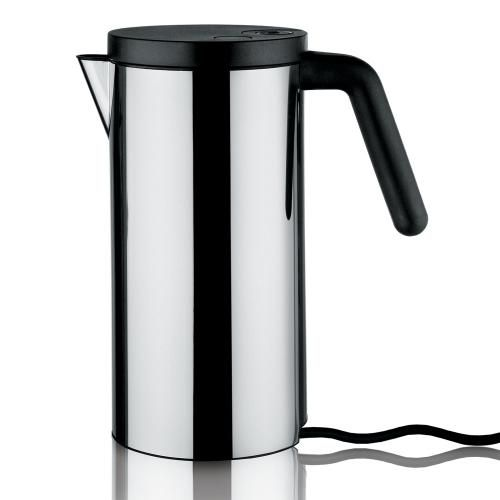 Elektrischer Wasserkocher schwarz 1,4l von Alessi Jetzt bestellen unter: http://www.woonio.de/produkt/elektrischer-wasserkocher-schwarz-14l-von-alessi/