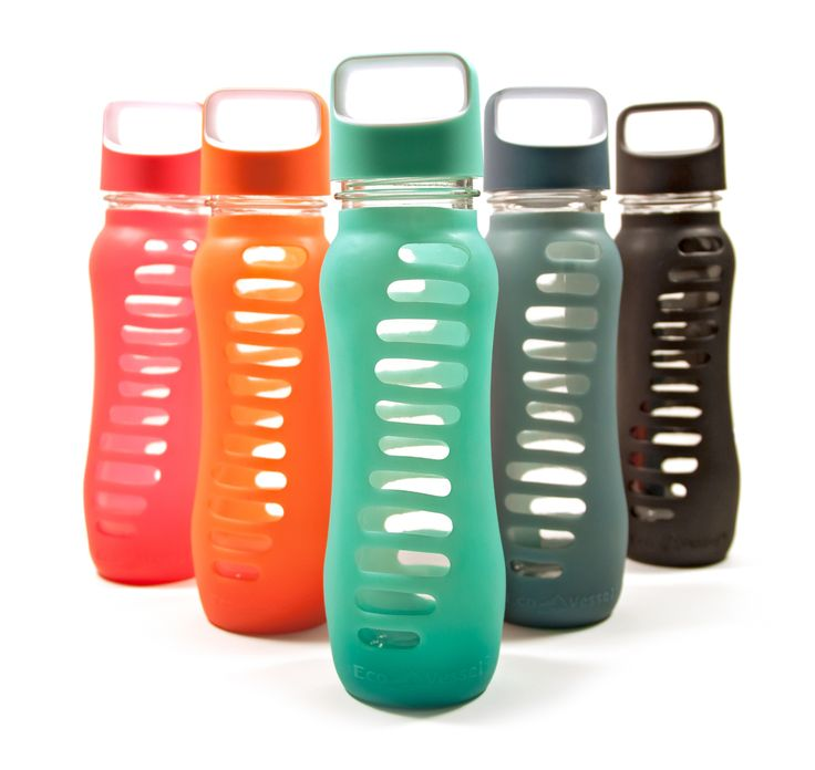 Raw Blend - Surf Recycled Glass Water Bottle 650ml (Eco Vessel), $32.95 (http://shop.rawblend.com.au/surf-recycled-glass-water-bottle-650ml-eco-vessel/)