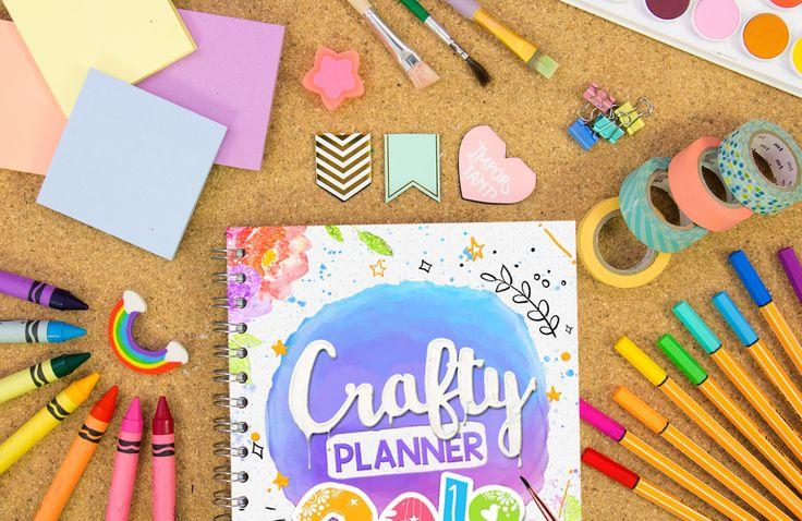 5 razones para tener una Crafty Planner:  1. Amas los colores y la creatividad   2. Quieres organizar tus días para lograr todos tus objetivos.....