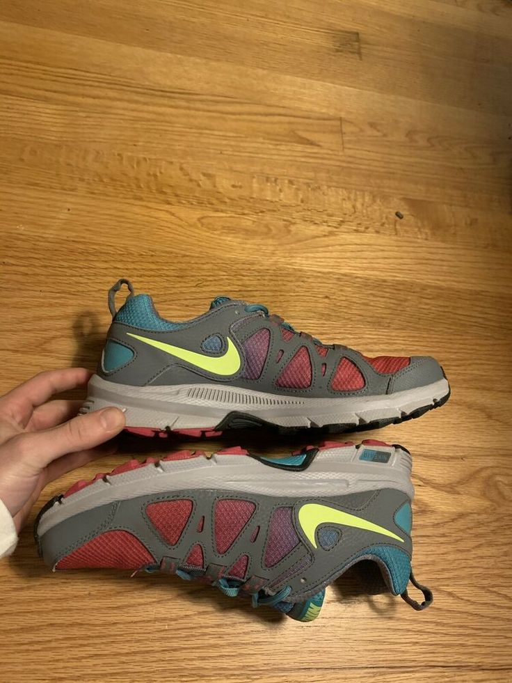 the best attitude 0a3aa 6bf01 Nike Air Alvord 10 Pink Gray Womens Trail Running Shoes 512038-600 Size 8  Rare - Nike Airs (This is a link to Amazon and as an Amazon Asso…