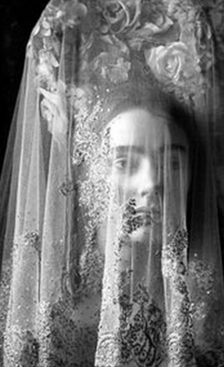 ☫ A Veiled Tale ☫ wedding, artistic and couture veil inspiration - Yuval Hen