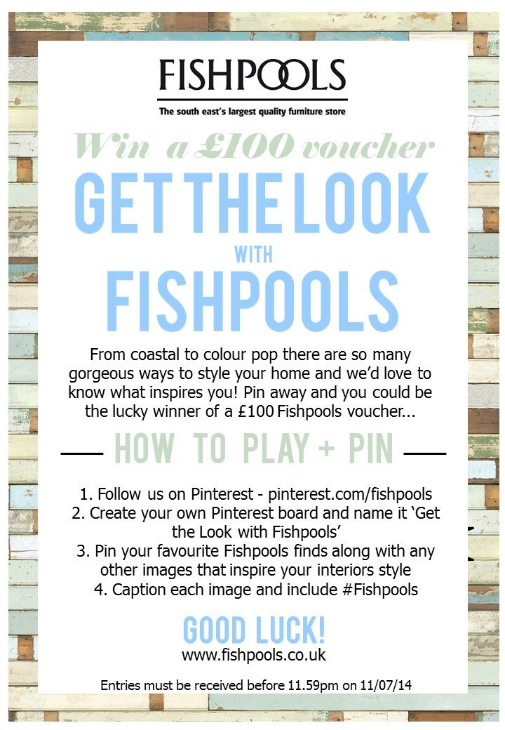 New #competition! Closing date 11/07/14 - get pinning!