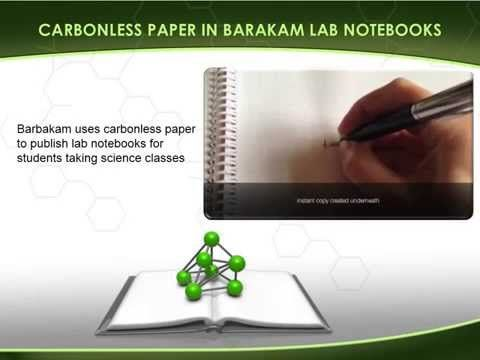 lab book spiral carbonless 100 page notebook