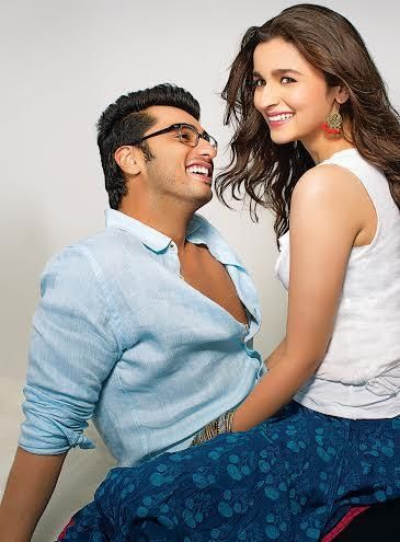 Alia Bhatt & Arjun kapoor frm their upcoming film #2States #Still2