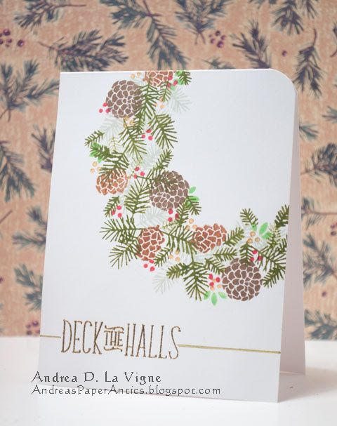 Andrea's Paper Antics: Deck the Halls