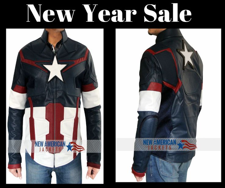 New Year Sale Chris Evans Captain America leather jacket Avengers Age of Ultron at Online Shop NewAmericanJackets.com Free Shipping & free Gifts !!!   #ChrisEvans #CaptainAmerica #leatherjacket #Avengers #AgeofUltron #geek #cosplay #costume #marvel #comic #fashion #fashionlover #fashionstyle #memes #vintage #clothing #outfit #celebs #stylish #movie #happynewyear #holiday #winter #sale #shopping