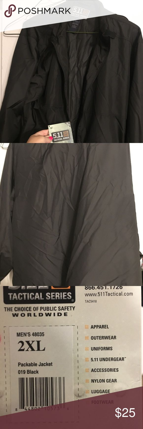 5.11 Packable Jacket 5.11 Packable Jacket - Size 2x 5.11 Tactical Jackets & Coats Utility Jackets