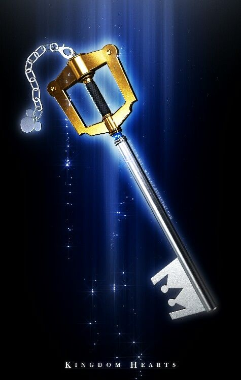 Kingdom Hearts keyblade. Kingdom Key. #gaming