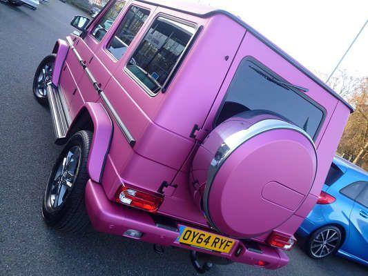 Used 2014 (64 reg) Purple Mercedes-Benz G Class G350 CDI BlueTEC 5dr Tip Auto for sale on RAC Cars
