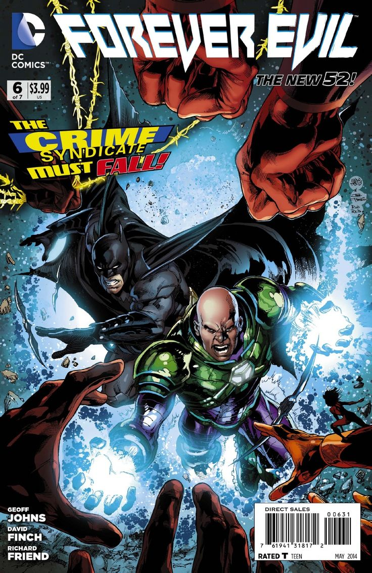 Batman and Luthor lead the attack on the Syndicate. Everything seems to be fine until they find Nightwing and the other prisoner of the Syndicate...