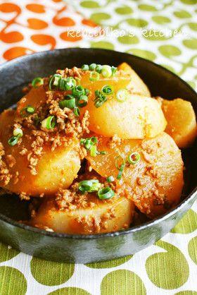 大根の韓国風そぼろ煮 : 【簡単で美味しい!】 大根料理の人気レシピ 35種類 (ぶり大根、煮物、切り干し大根も) - NAVER まとめ