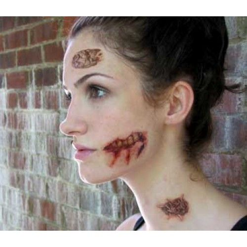 13 best halloween costumes images on pinterest halloween for Halloween makeup tattoos