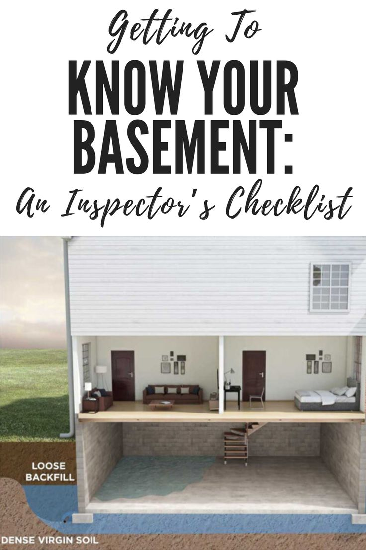 Getting To Know Your Basement An Inspector's Checklist