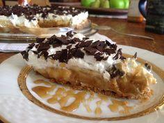 Banoffee pie (γλυκό ψυγείου μπανόφι)