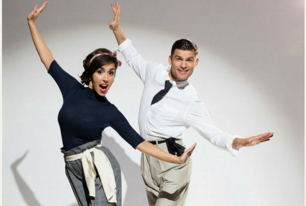 Strictly Come Dancing professional couple Janette Manrara and Aljaz Skorjanec