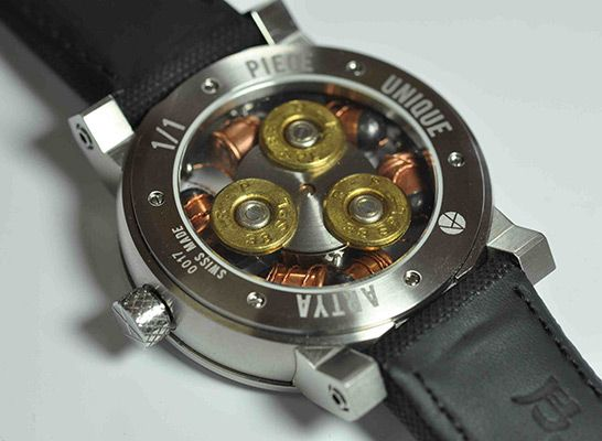 ArtyA Son of a Gun Bullet Watch
