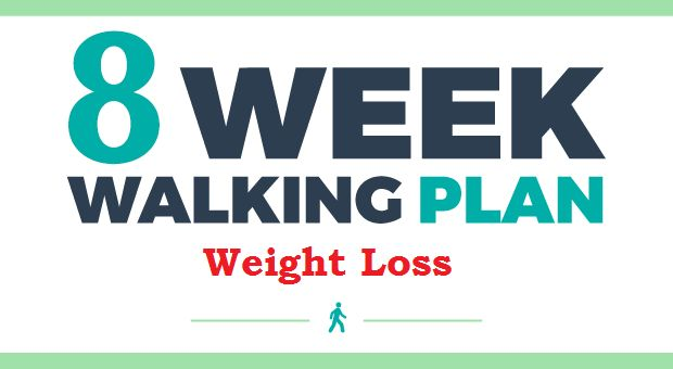 Your 8 Week Walking Plan For Weight Loss