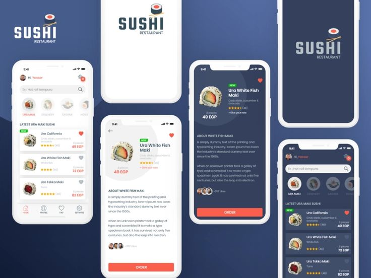 restaurant app dark theme Google Search (With images