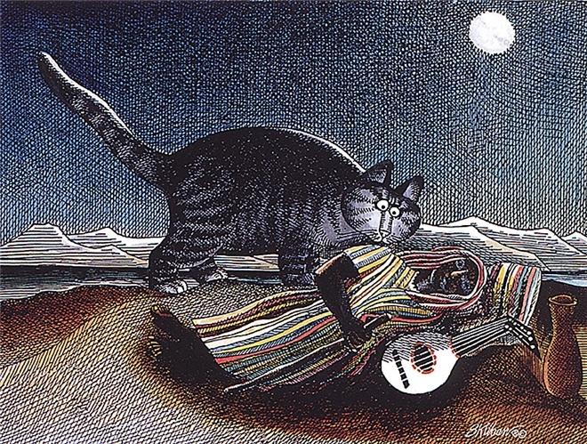 Cat Dreams by Bernard Kliban