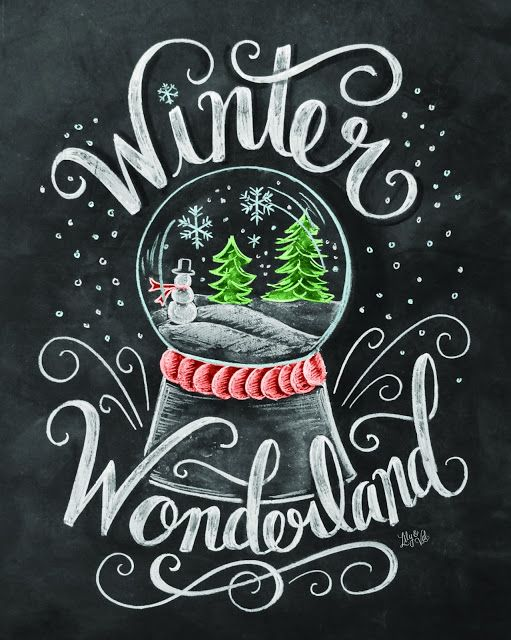 Make My Monday Pretty — Chalkboard Art || Lettering
