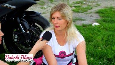 """""""Benzyna we krwi, ale w głowie olej""""  …czyli """"Kobieta na motocyklu"""" – wywiad z Olgą Olesińską – autorką bloga """"Motozakręcona.pl"""""""