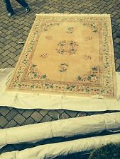 8 1/2 by 11 1/2 chinese aubusson rug