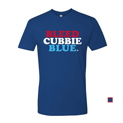 Support your Cubbies in the softest, smoothest, best looking Chicago Cubs T-shirt available anywhere. Printed on Next Level, Premium Fitted Short Sleeve Crew T Shirts. 100% combed cotton jersey. A sig