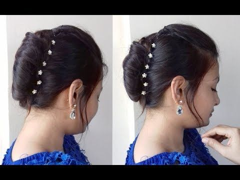 Quick N Easy French Bunfrench Rollfrench Twist Tutorial In Hindi