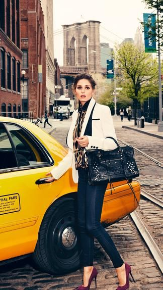 : Magazine, Fashion Style, Cities, Outfit, Olivia Palermo, New York, Beauty, Fall Styles, City Style