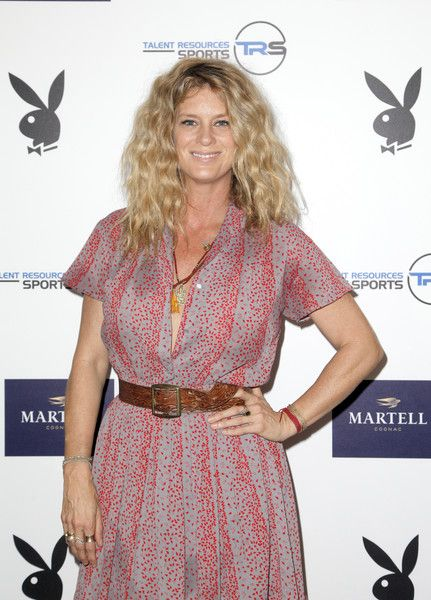 Rachel Hunter Photos - Rachel Hunter attends the Talent Resources Sports Party hosted by Martell Cognac at Playboy Headquarters on July 11, 2017 in Los Angeles, California. - Martell Cognac Hosts Talent Resources Sports Party in Los Angeles, California