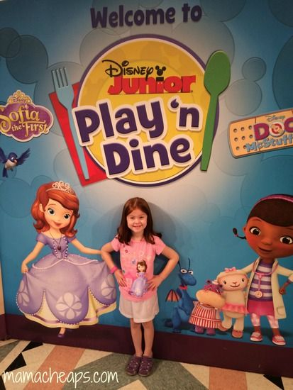 Disney Junior Play and Dine Breakfast Character Meal Review (Hollywood & Vine Restaurant at Disney's Hollywood Studios)