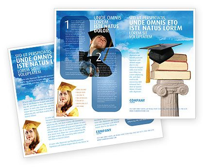 153 best brochure templates images on pinterest brochure for Education brochure templates