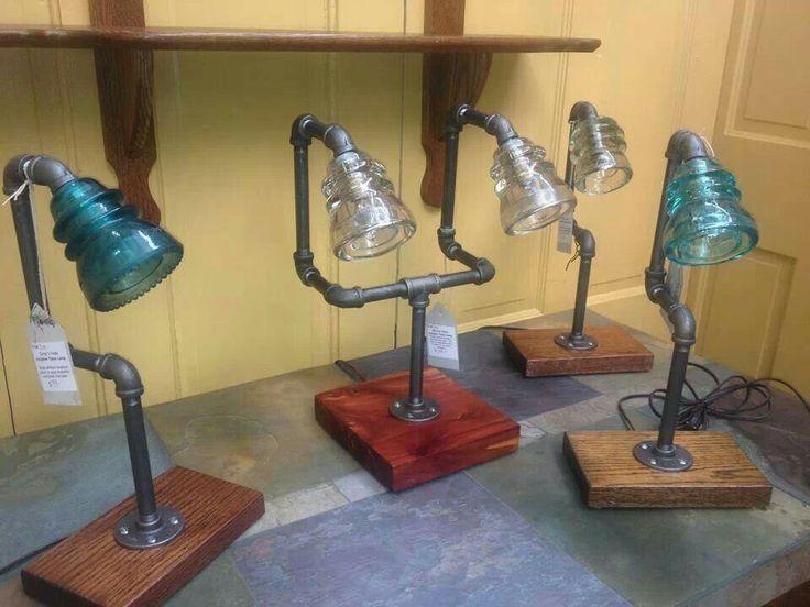 Glass Insulator Lamps